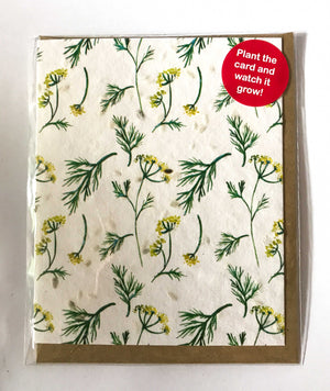 Plant a Card - Dill Pattern