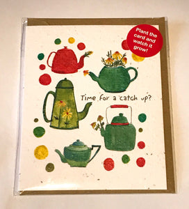 Plant a Card - Time for a Catch Up