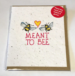 Plant a Card - Meant to Bee