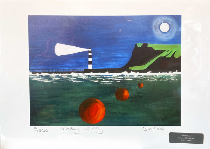 Sue Hone Prints - Whitby Whimsy