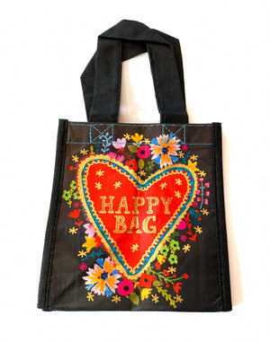 Recycled Plastic Giftbag (Small) - Happy Bag (Heart)