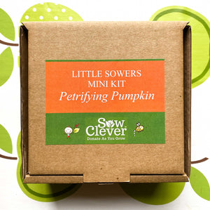 Sow Clever Little Sowers Mini Kits - Petrifying Pumpkins