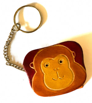 Mini Animal Coin Purse with Keyring - 6 Designs