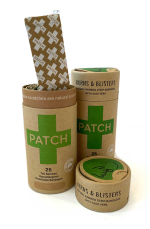 PATCH Biodegradable Plasters - Burns & Blisters