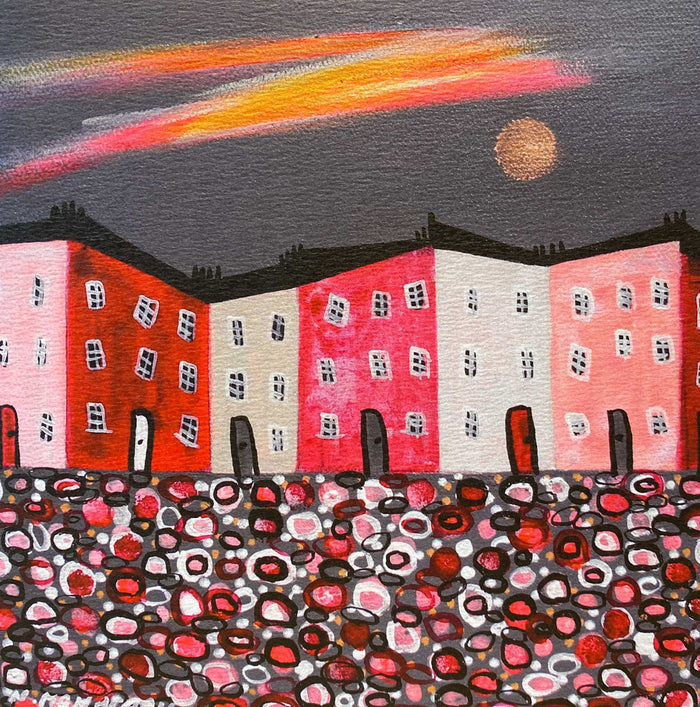 Nikki Monaghan Cards - Moonlit Terrace
