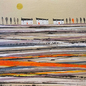 Nikki Monaghan Cards - Morning Orange