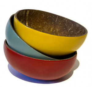 Matt Coconut Bowls - Choice of 3 Colours