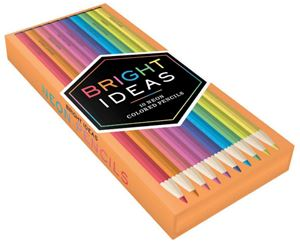 Bright Ideas Set of 10 Neon Coloured Pencils