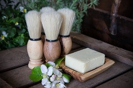 Emma's Soap - Olive Wood Shaving Brush