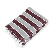 Blanco Thin Stripe Mexican Blanket - Choice of 5 colours