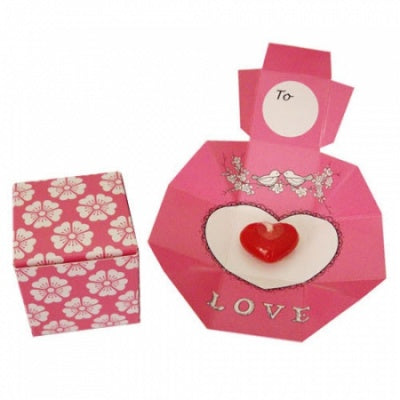 Love Candle in Card Box