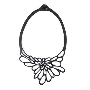 Edelweiss Recycled Inner-tube Necklace