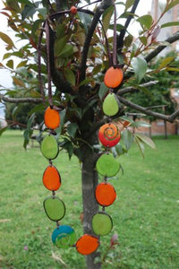 Totumo Fruit & Tagua nut necklaces - Mezcla (Choice of 2 Colourways)