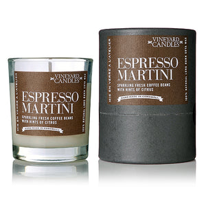 Vineyard Candles - Aperitif Espresso Martini Shot