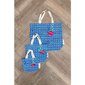 Batik Collection Fabric Gift Bags - Square Design