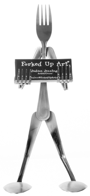 Up-cycled Cutlery: Multi-curve - Fork