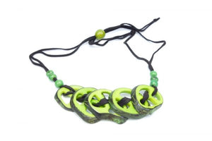 Sun Collection - Tagua nut necklaces