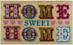Home Sweet Home Coconut Fibre Doormat