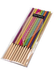 Mixed fragrance incense sticks - pack of 10