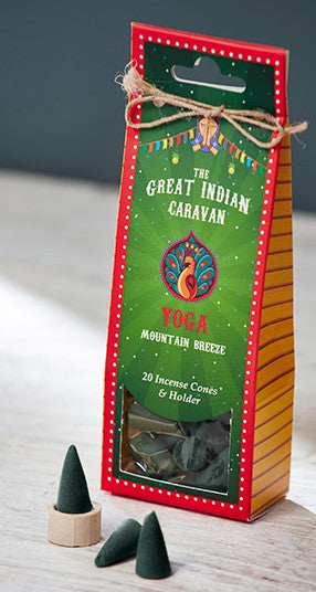 Great Indian Caravan Incense Cones - Choice of 6 fragrances