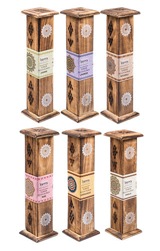 Karma Scents Wooden Incense Tower