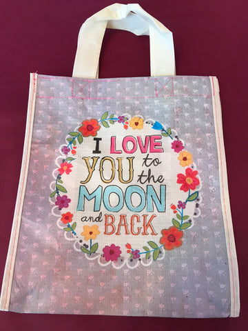 Recycled Plastic Giftbag (Medium) - Love you to the moon and back