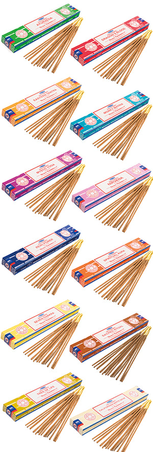 Satya Nag Champa Spiritual series - Incense sticks 15g