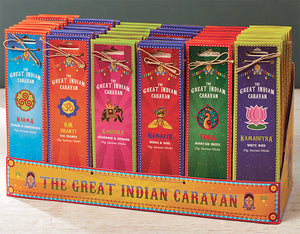 Great Indian Caravan Incense Sticks - Choice of 6 fragrances