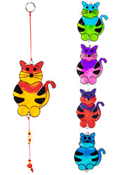 Cat light-catcher - Choice of 5 colours
