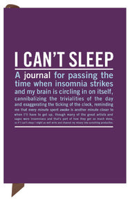 """I Can't Sleep"" - mini inner truth journal"