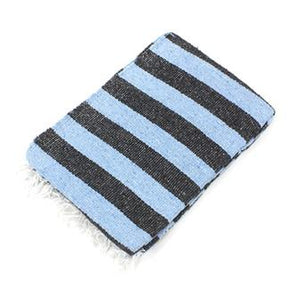 Thin Stripe Mexican Blanket - Choice of 5 colours