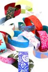 Hand-made paper chain kit