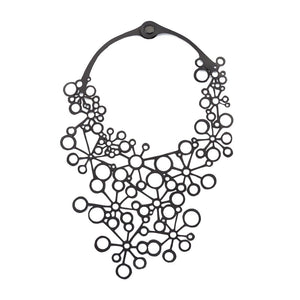 Octa Recycled Inner-tube Necklace