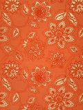 Luxurious Recycled Rag Wrapping Paper - Orange Dahlia