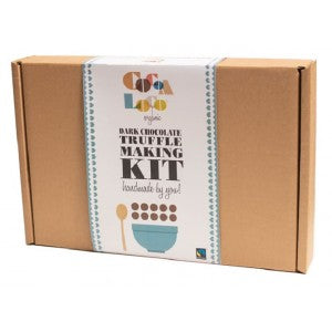 Organic Fairtrade Dark Chocolate Truffle Making Kit