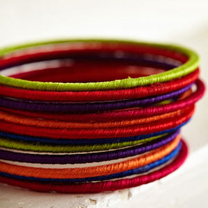 Indian Cotton Bangles