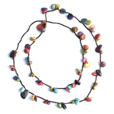 Bits & Pieces Tagua Nut Necklace
