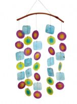 Capiz Shell Windchime - Choice of 3 colours