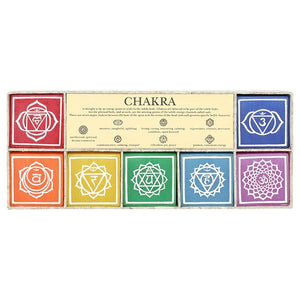 Set of 7 Chakra Candles