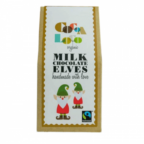 Organic Fairtrade Milk Chocolate Elves