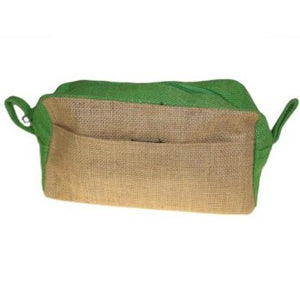 Jute Toiletry Bag - Choice of 2 colours