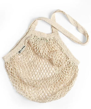 Turtle Bags - Organic Cotton String Shoppers (Long-handled)