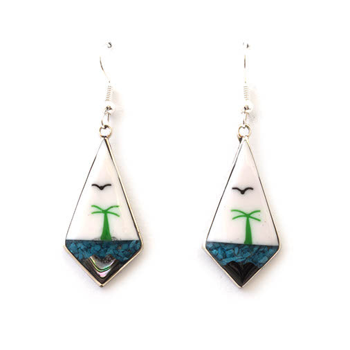 Mexican earrings - Isla Izar