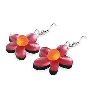 Flower Collection - fish hook earrings