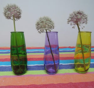 100% Recycled Glass Lisa Vases - Choice of 6 colours