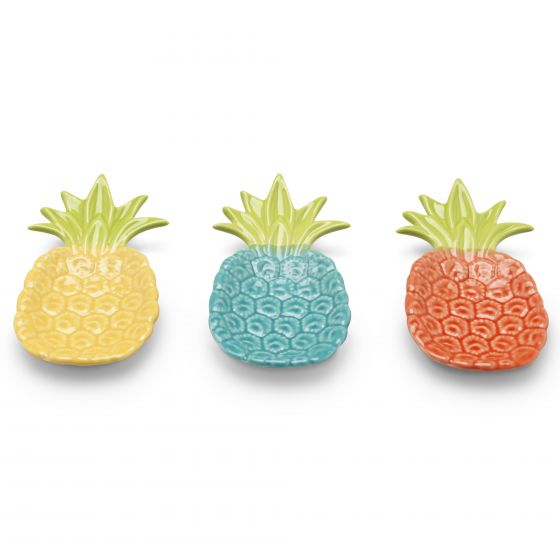 Ceramic Pineapple Dish - Choice of 3 colours