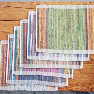 Recycled Newspaper Woven Place Mats