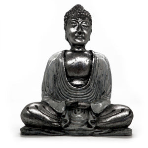 Small Buddha Statuette - Choice of 2 Colours