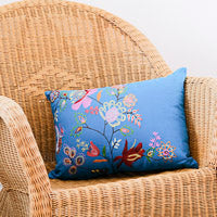 Rectangular embroidered cushions 35cm x 50cm