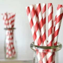 Eco-friendly Partyware - Vintage Paper Straws